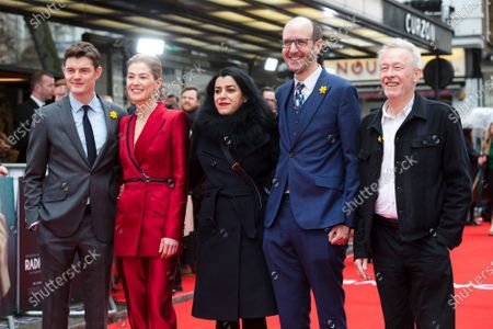 Editorial picture of Radioactive film premiere in London, United Kingdom - 08 Mar 2020