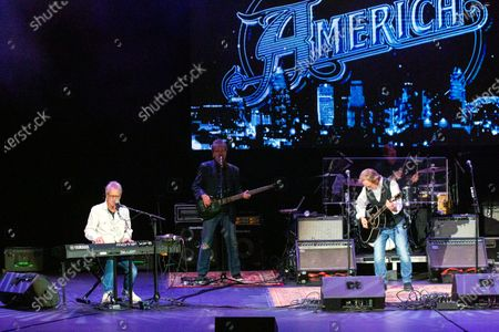 Stock Picture of America - Gerry Beckley and Dewey Bunnell