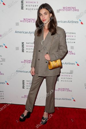 Editorial photo of National Women's History Museum Women Making History Awards, Arrivals, Los Angeles, USA - 08 Mar 2020