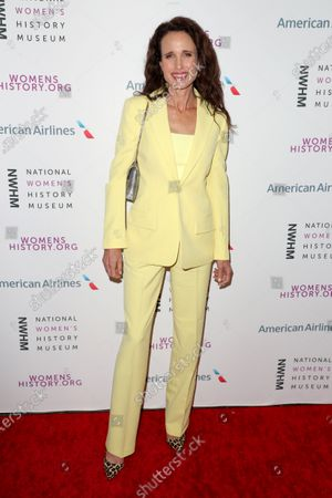 Editorial picture of National Women's History Museum Women Making History Awards, Arrivals, Los Angeles, USA - 08 Mar 2020