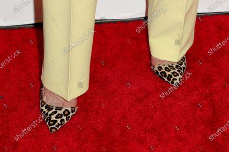 Andie MacDowell, shoe detail