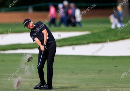 Jimmy Walker of the US hits his second shot on the tenth hole during the fourth round of the Arnold Palmer Invitational golf tournament at Bay Hill Club & Lodge in Orlando, Florida, USA, 08 March 2020.