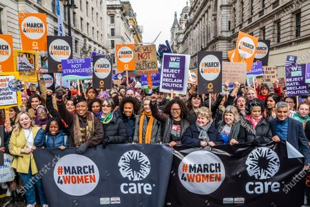 Editorial photo of March 4 Women protest, London, UK - 08 Mar 2020