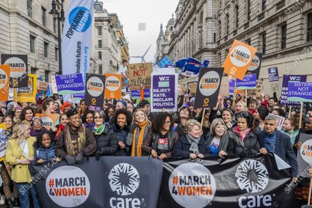 Editorial image of March 4 Women protest, London, UK - 08 Mar 2020
