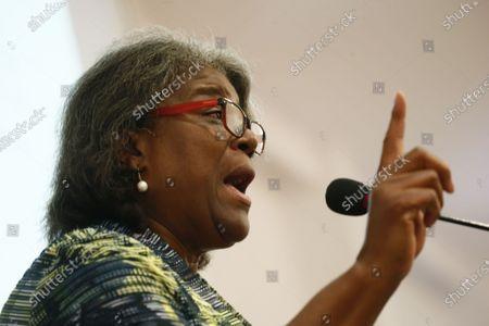 Editorial photo of Ellen Johnson Sirleaf Presidential Center for Women and Development Launch in Liberia, Morgibi County - 08 Mar 2020