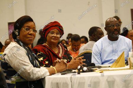 Editorial picture of Ellen Johnson Sirleaf Presidential Center for Women and Development Launch in Liberia, Morgibi County - 08 Mar 2020