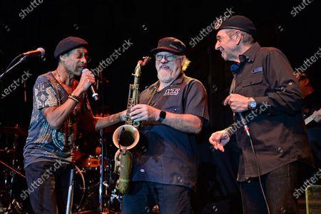 WAR - Leroy ' Lonnie Jordan, Scott Martin and Stanley Behrens