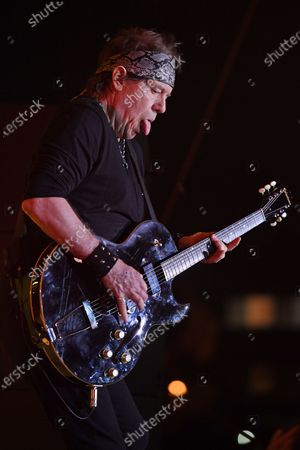 Editorial image of George Thorogood and The Destroyers in concert at The Magic City Casino, Miami, Florida, USA - 07 Mar 2020