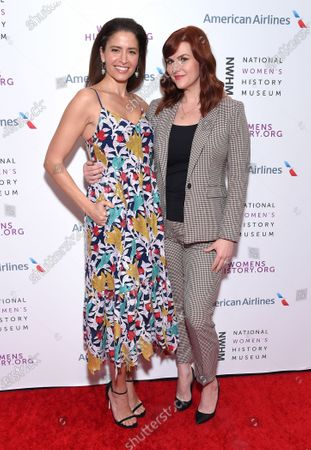 Mercedes Masohn and Sara Rue