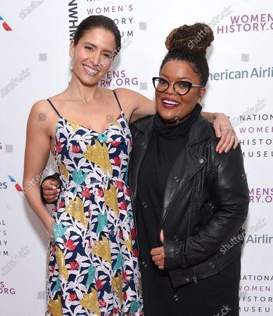 Mercedes Masohn and Yvette Nicole Brown