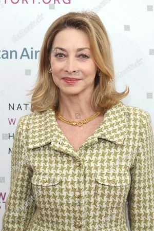 Sharon Lawrence arrives at the Eighth Annual Women Making History Awards at the Skirball Cultural Center, in Los Angeles