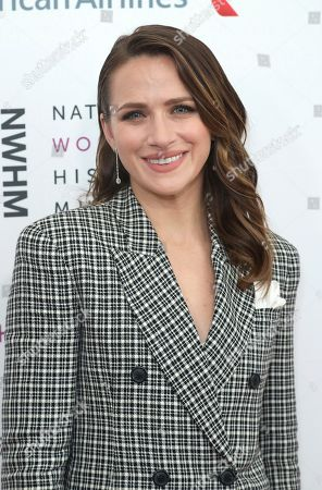 Shantel VanSanten arrives at the Eighth Annual Women Making History Awards at the Skirball Cultural Center, in Los Angeles