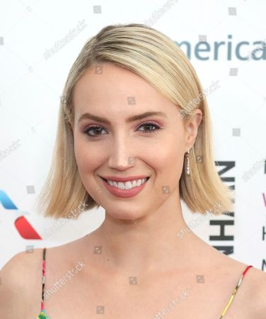 Molly McCook arrives at the Eighth Annual Women Making History Awards at the Skirball Cultural Center, in Los Angeles
