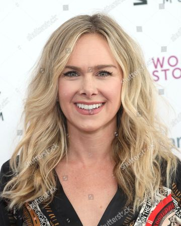 Stock Photo of Laura Bell Bundy arrives at the Eighth Annual Women Making History Awards at the Skirball Cultural Center, in Los Angeles