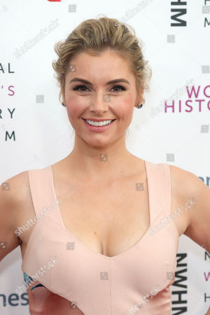 Brianna Brown arrives at the Eighth Annual Women Making History Awards at the Skirball Cultural Center, in Los Angeles