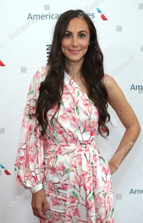 Julia Price arrives at the Eighth Annual Women Making History Awards at the Skirball Cultural Center, in Los Angeles