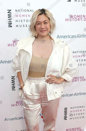 MILCK arrives at the Eighth Annual Women Making History Awards at the Skirball Cultural Center, in Los Angeles