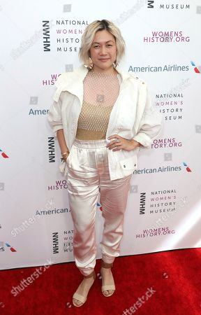 Stock Photo of MILCK arrives at the Eighth Annual Women Making History Awards at the Skirball Cultural Center, in Los Angeles