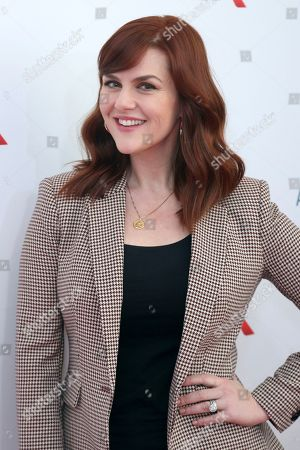 Sara Rue arrives at the Eighth Annual Women Making History Awards at the Skirball Cultural Center, in Los Angeles