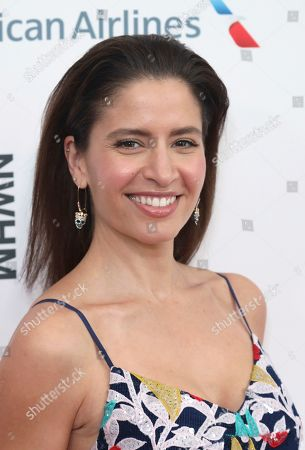 Mercedes Masohn arrives at the Eighth Annual Women Making History Awards at the Skirball Cultural Center, in Los Angeles
