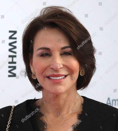 Stock Photo of Giselle Fernandez arrives at the Eighth Annual Women Making History Awards at the Skirball Cultural Center, in Los Angeles