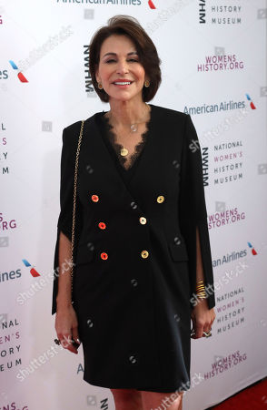 Stock Image of Giselle Fernandez arrives at the Eighth Annual Women Making History Awards at the Skirball Cultural Center, in Los Angeles