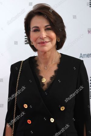 Giselle Fernandez arrives at the Eighth Annual Women Making History Awards at the Skirball Cultural Center, in Los Angeles