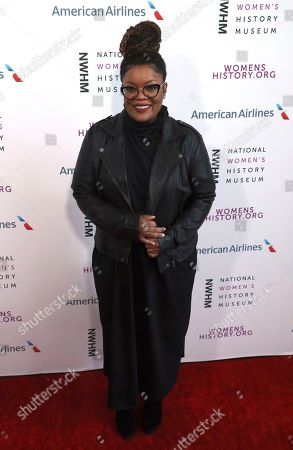 Yvette Nicole Brown arrives at the Eighth Annual Women Making History Awards at the Skirball Cultural Center, in Los Angeles