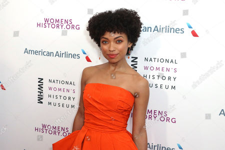 Logan Browning arrives at the Eighth Annual Women Making History Awards at the Skirball Cultural Center, in Los Angeles