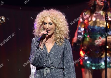 Kimberly Schlapman with Little Big Town performs at the Fox Theatre, in Atlanta