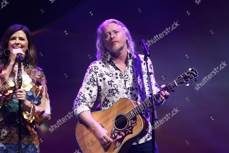 Phillip Sweet with Little Big Town performs at the Fox Theatre, in Atlanta