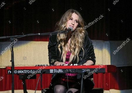 Caitlyn Smith performs as the opener for Little Big Town at the Fox Theatre, in Atlanta