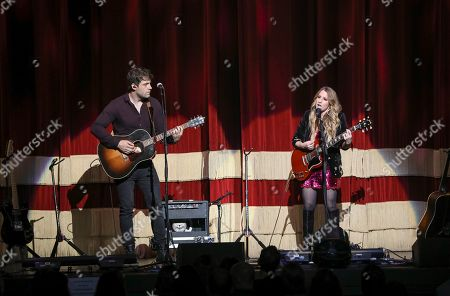 Stock Photo of Caitlyn Smith performs as the opener for Little Big Town at the Fox Theatre, in Atlanta