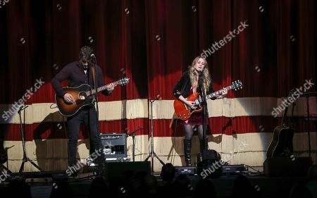 Stock Picture of Caitlyn Smith performs as the opener for Little Big Town at the Fox Theatre, in Atlanta