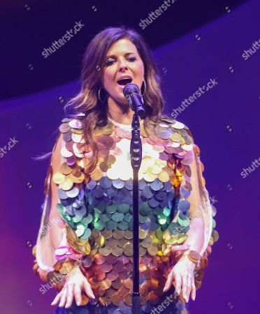 Karen Fairchild with Little Big Town performs at the Fox Theatre, in Atlanta