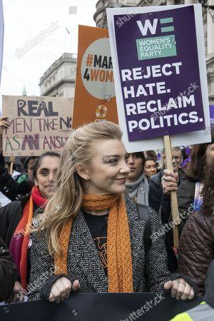 Editorial photo of International Women's Day, London, UK - 08 Mar 2020