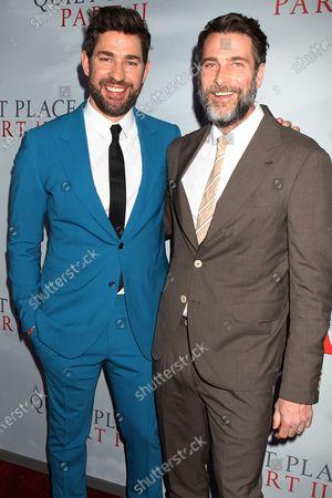 John Krasinski and Andrew Form (Producer)