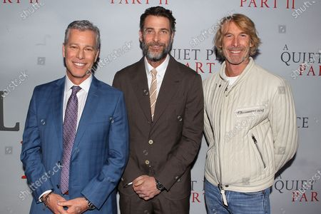 Brad Fuller, Andrew Form and Michael Bay (Producer)
