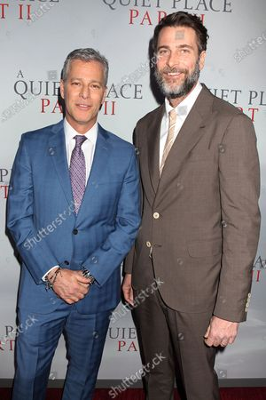 Stock Picture of Brad Fuller and Andrew Form (Producer)