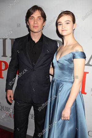 Cillian Murphy and Millicent Simmonds