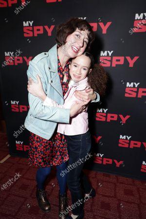 Kristen Schaal and Chloe Coleman