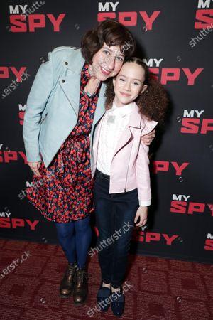 Stock Photo of Kristen Schaal and Chloe Coleman