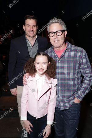 Producer Chris Bender, Chloe Coleman and Director Peter Segal