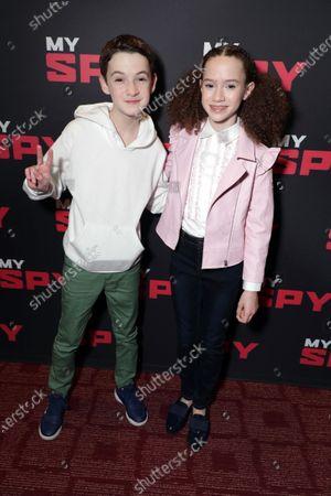 Jaon Maybaum and Chloe Coleman