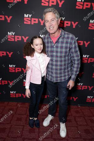 Chloe Coleman and Director Peter Segal
