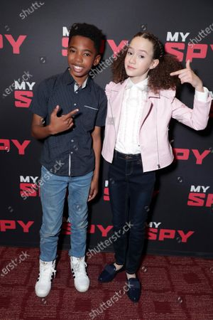 Seth Carr and Chloe Coleman