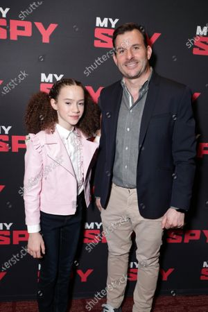 Chloe Coleman and Producer Chris Bender