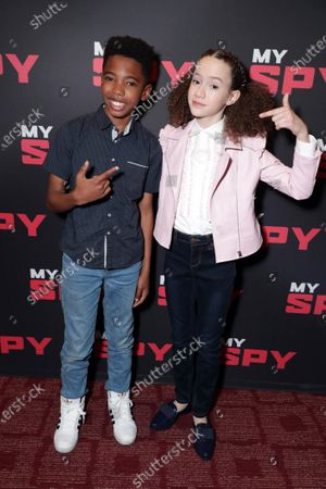 Editorial image of STXFIlms MY SPY special influencer screening Los Angeles, USA - 08 March 2020