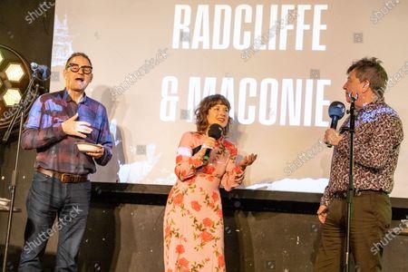 Mark Radcliffe, Katie Puckrik and Stuart Maconie