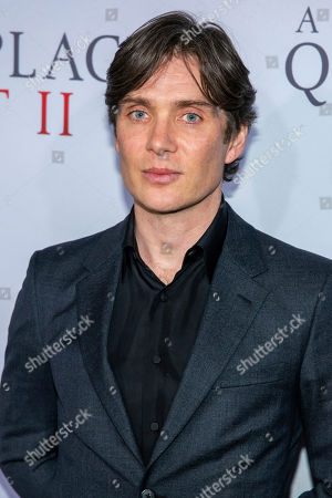"""Cillian Murphy attends the world premiere of Paramount Pictures' """"A Quiet Place Part II"""" at Jazz at Lincoln Center's Frederick P. Rose Hall, in New York"""